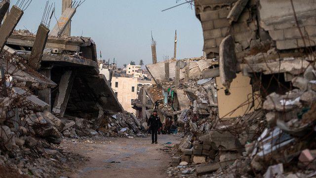 Gaza. Terrible Destruction