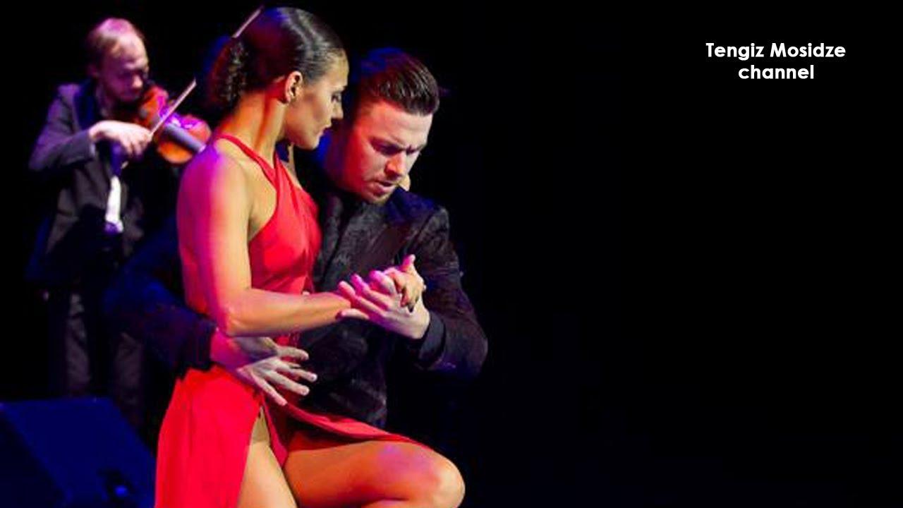 "Tango ""Negracha"". Dmitry Vasin and Esmer Omerova with ""Solo Tango Orquesta""."